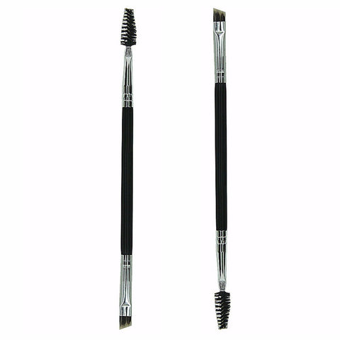 Duo Lash & Brow Brush - Gold Cosmetics & Supplies