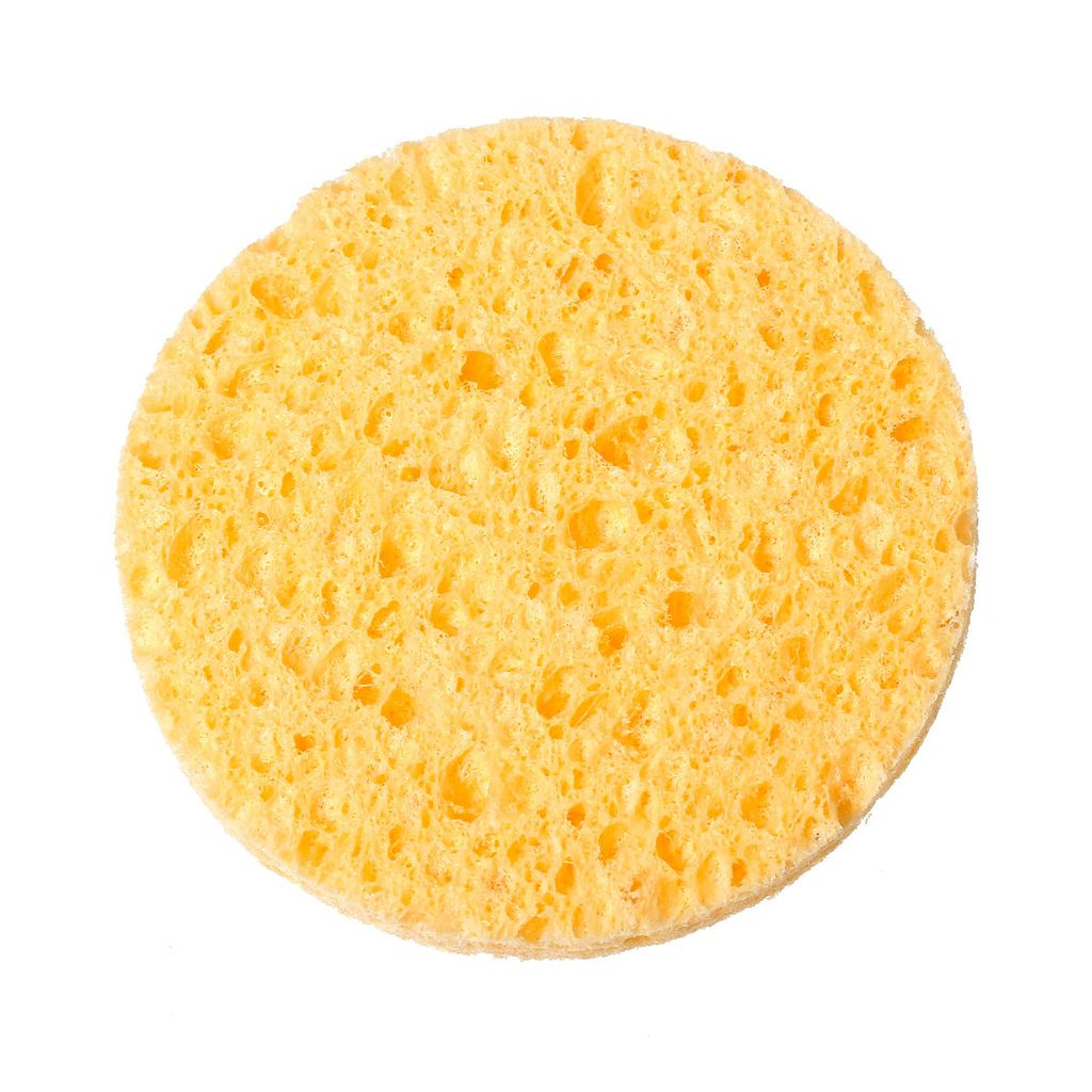 Non-compressed Cellulose Sponges - Gold Cosmetics & Supplies
