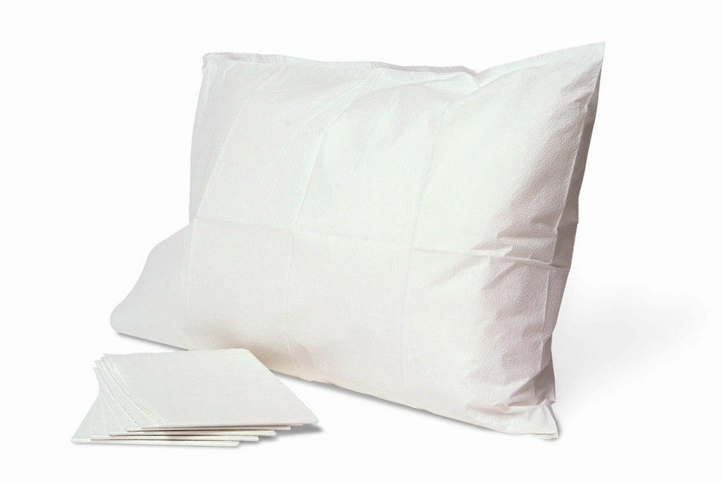 25-pc/ DISPOSABLE PILLOW CASE - WHITE - Gold Cosmetics & Supplies