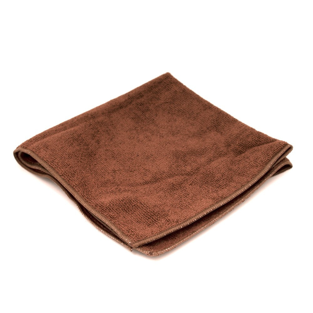 1 CASE/  180-PCS Chocolate (Brown) MICROFIBER FACIAL TOWELS - Gold Cosmetics & Supplies