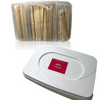 350-pcs Wax Applicators Tray Kit - Gold Cosmetics & Supplies