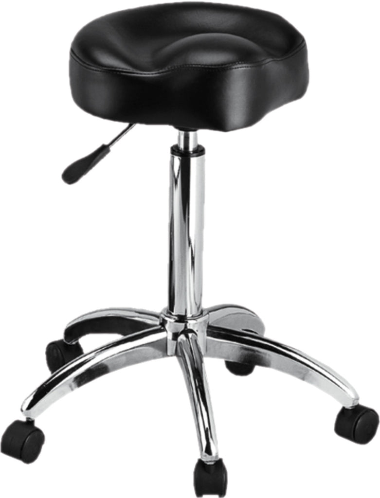 Pneumatic Stool - Black - Gold Cosmetics & Supplies