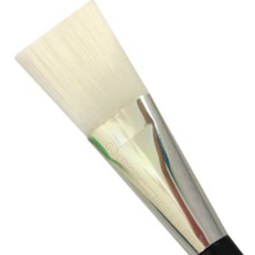 1 CASE/ 75-PCS Professional Large Mask Brush - White - Gold Cosmetics & Supplies