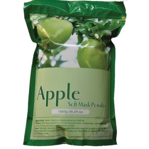 1 Case/ 14-Pcs Apple Soft Peel-Off Mask Powder - Gold Cosmetics & Supplies