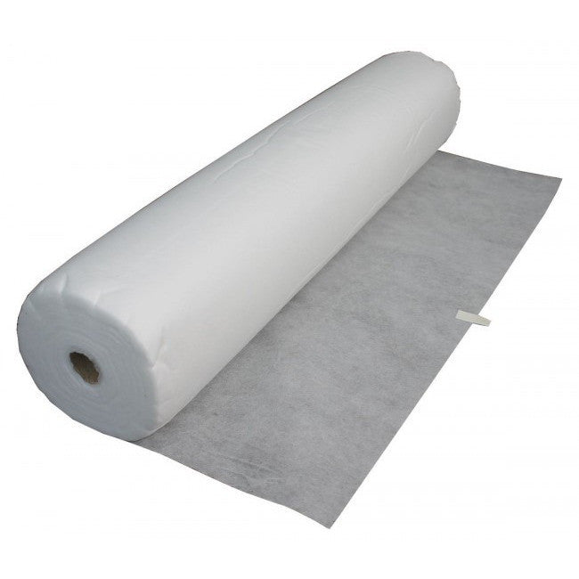 Disposable Perforated BED COVER ROLL - WHITE - Gold Cosmetics & Supplies