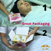 50-PCS/ Compressed Cellulose Cleansing Facial Sponges - Gold Cosmetics & Supplies