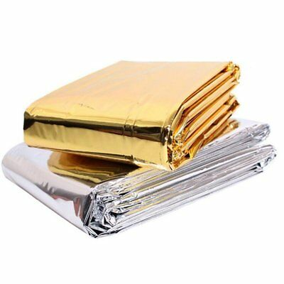 5-pc/ Body Wrap Thermal Foil Mylar Blanket - Gold Cosmetics & Supplies