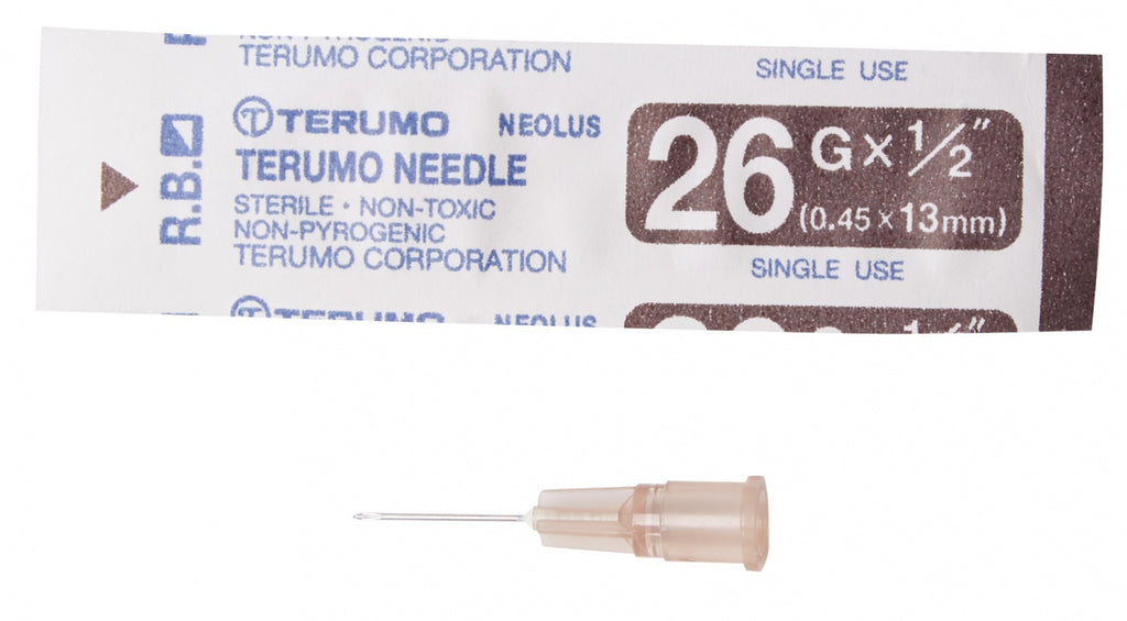100/pcs hypodermic needle 20g (1 INCH)