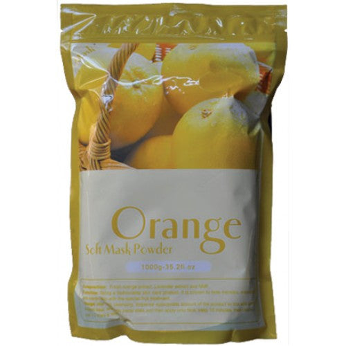 1 case/ 14-bags ORANGE SOFT PEEL-OFF MASK POWDER - Gold Cosmetics & Supplies