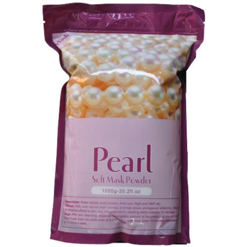 1 case/ 14-bags PEARL SOFT PEEL-OFF MASK POWDER - Gold Cosmetics & Supplies