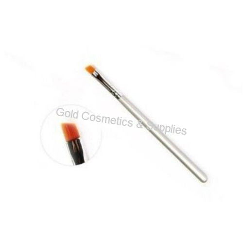 Professional Eyebrow & Eyelash Tint Brush Angled - Gold Cosmetics & Supplies