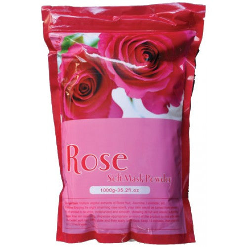 1 case/ 14-pcs ROSE SOFT PEEL-OFF MASK POWDER - Gold Cosmetics & Supplies