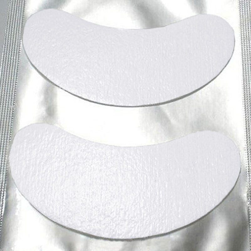 50-Pairs (100-pcs)/ Under-Eye Gel Patches - Eyelash Extensions - Gold Cosmetics & Supplies