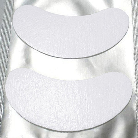 50-Pairs (100-pcs)/ Under-Eye Gel Patches - Eyelash Extensions