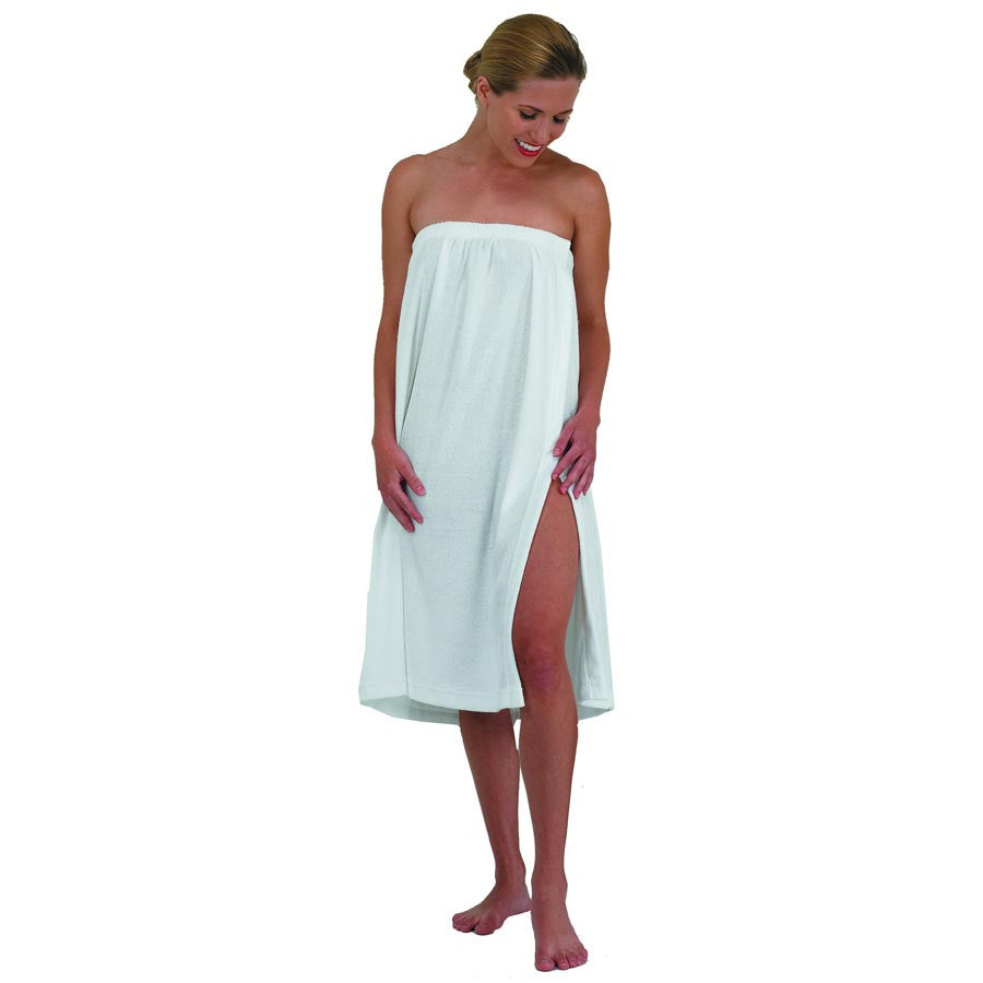 Terry Cloth Spa Wrap with Velcro - Gold Cosmetics & Supplies