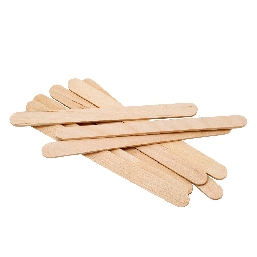 Popsicle Wax Applicator Sticks 4.5"
