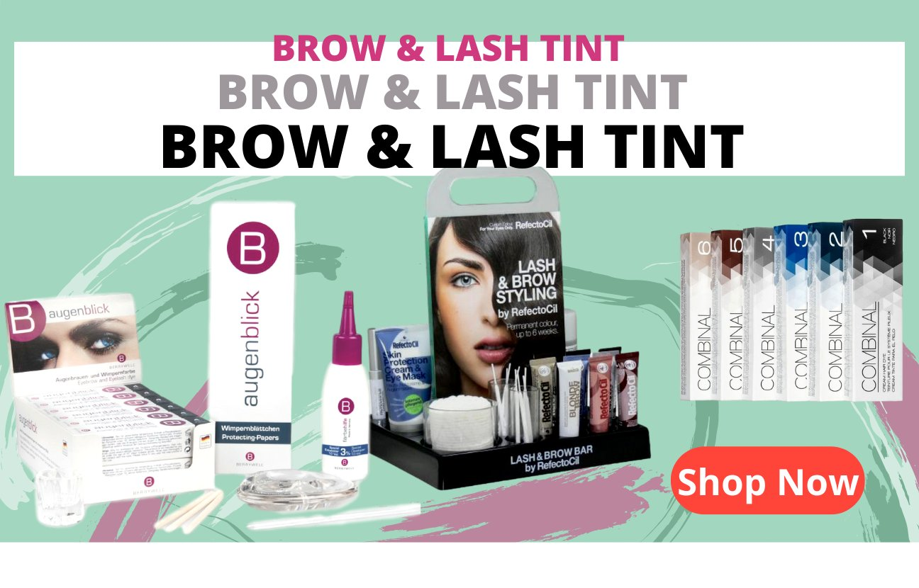 brow and lash tint