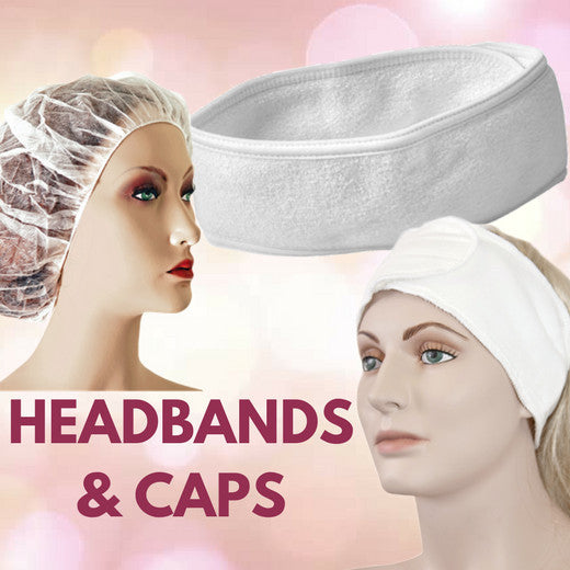 HEADBANDS AND CAPS
