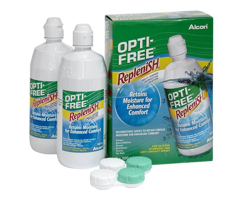 Opti-Free RepleniSH Twin Pack (2 X 330ml)