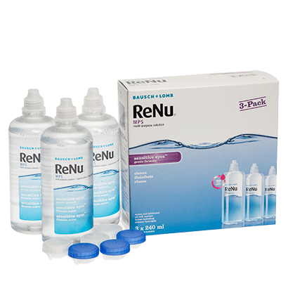 ReNu Multi-Purpose Solution Triple Pack (3 X 240ml)