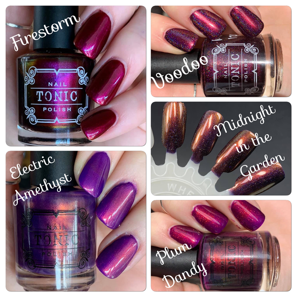 PC Purples and Burgundies Whole Shebang