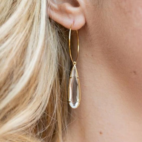 The Harper Hoop Earrings (Available in 5 colors)