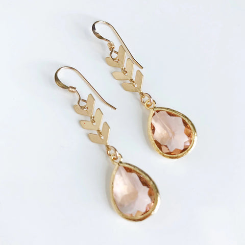 The Brooke Earrings (available in 18 colors)