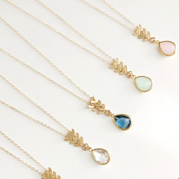 The Elizabeth Necklace (available in 19 colors)