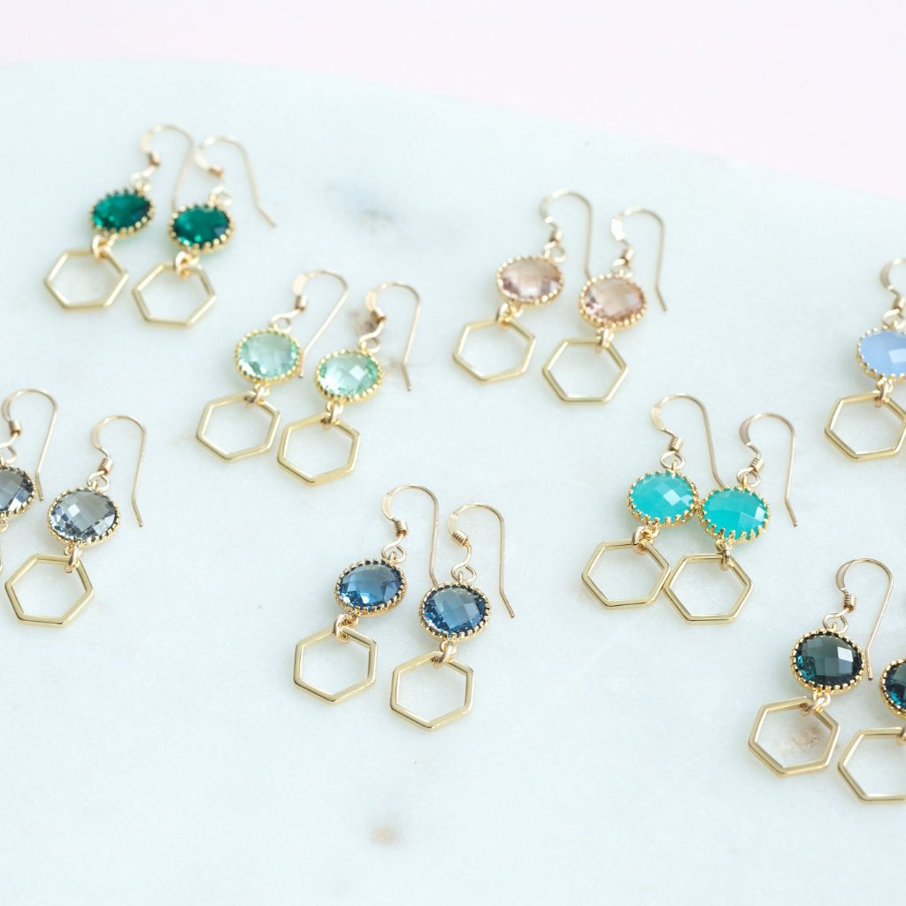 The Charlotte Earrings (Available in 8 colors)
