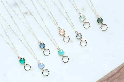 The Charlotte Necklace (Available in 8 colors)