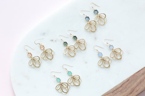 The Emma Earrings (Available in 8 colors)