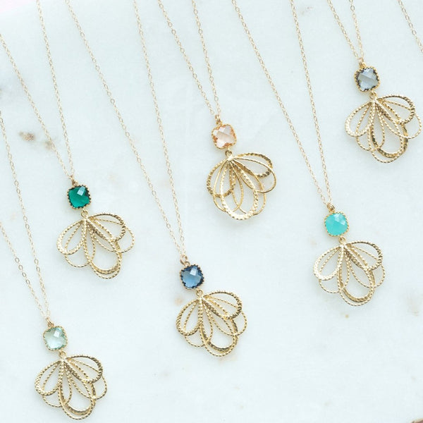 The Emma Necklace (Available in 10 colors)