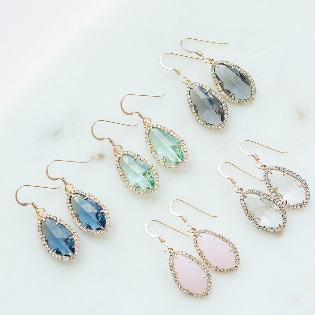 The Julia Earrings (Available in 8 colors)