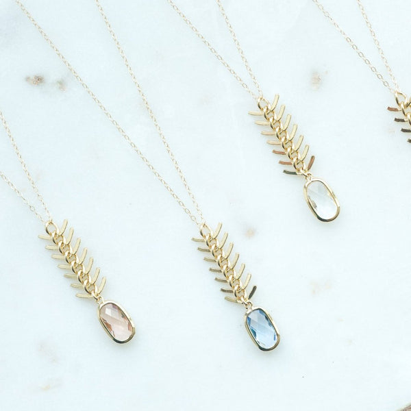 The Luna Necklace (Available in 4 colors)
