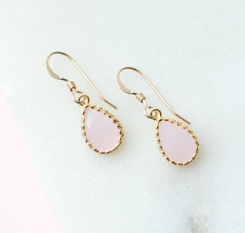 The Little Girls' Collection - Sophia Earrings (Available in 10 colors)