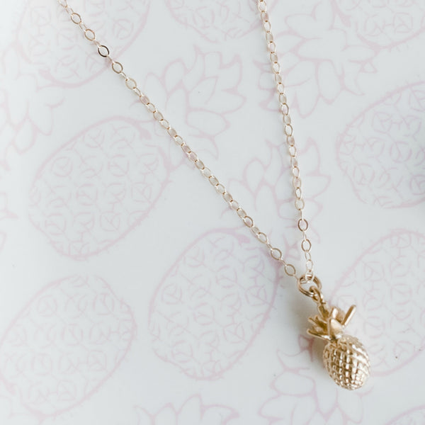 The Riley Necklace (Pineapple)