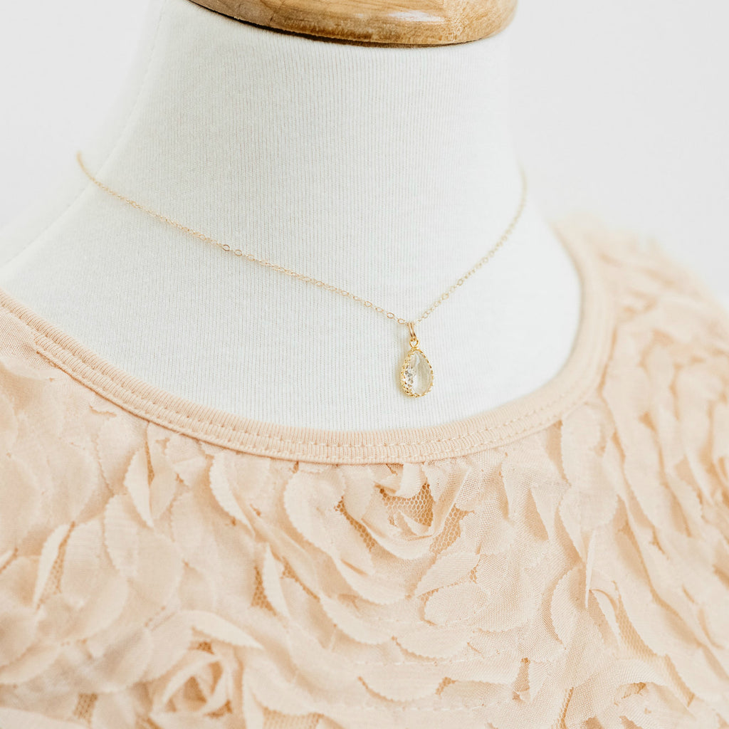 The Little Girls' Collection - Sophia Necklace (Available in 10 colors)