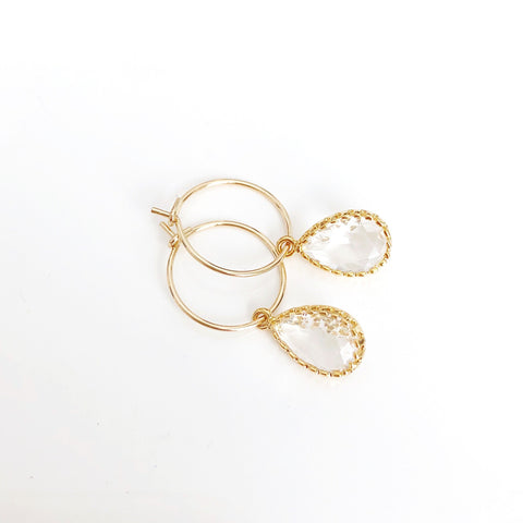 The Mini Sophia Hoop Earrings (Available in 17 colors)
