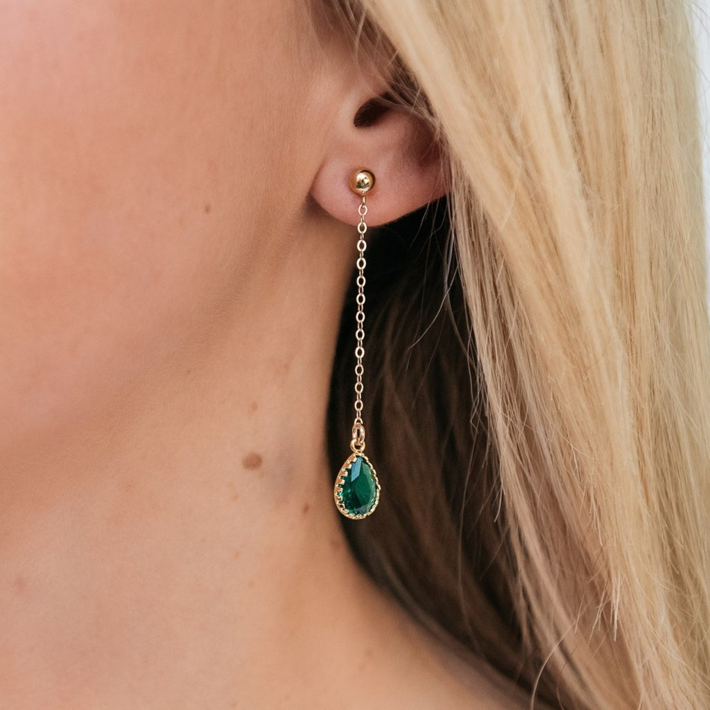 The Sophia Drop Earrings (Available in 16 Colors)