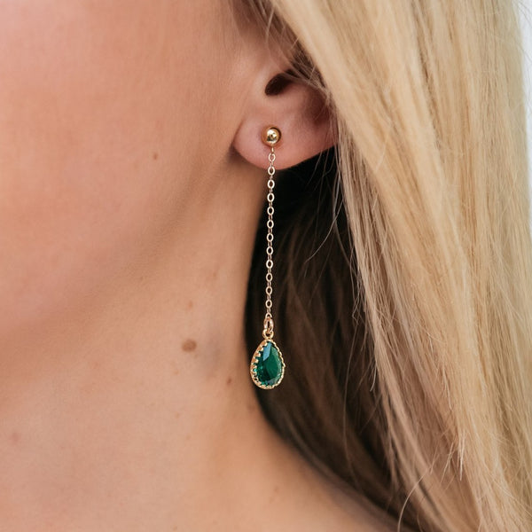 The Sophia Drop Earrings (Available in 10 Colors)