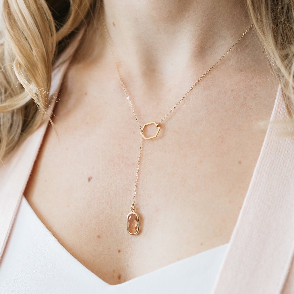 The Isabella Necklace (Available in 2 colors)