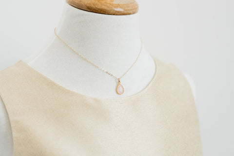 The Little Girls' Collection - Sophia Necklace (Available in 6 colors)
