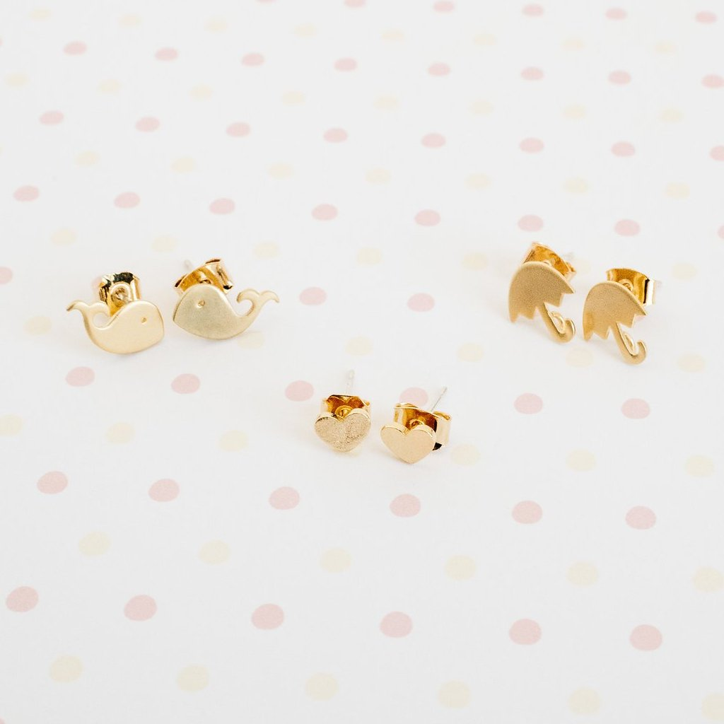 The Little Girls' Collection - Zoe Earrings