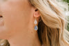 The Olivia Earrings (Available in 16 colors)