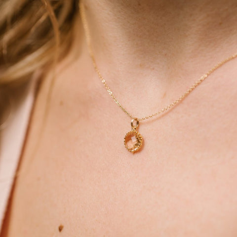 The Lily Necklace (Available in 9 colors)