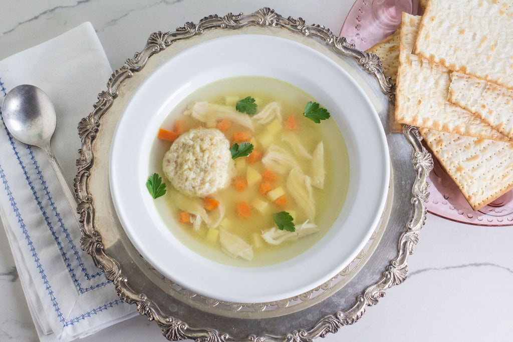 Fody Low FODMAP Matzah Ball Soup