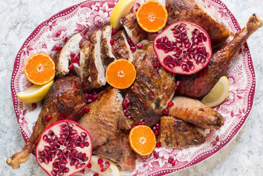 Citrus & Herb Crisp Whole Roast Low FODMAP Turkey