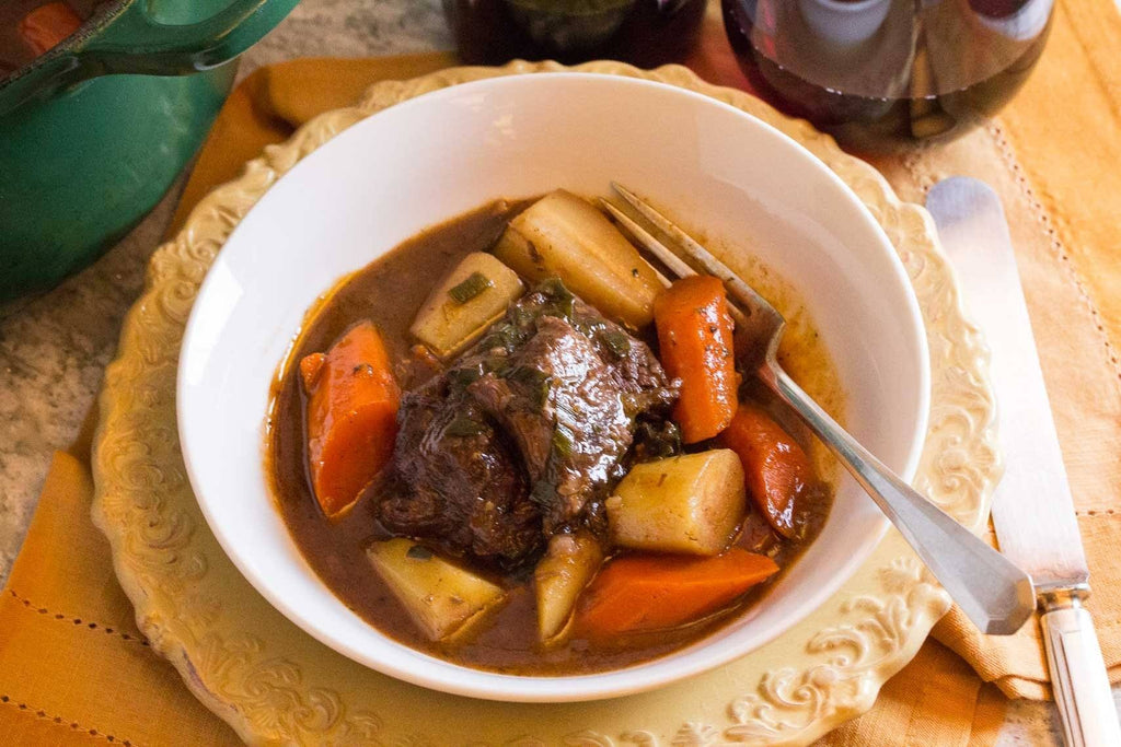 Low FODMAP Pot Roast with Root Vegetables