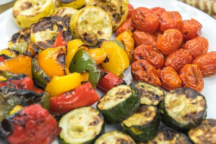 Grilled Low FODMAP Vegetables