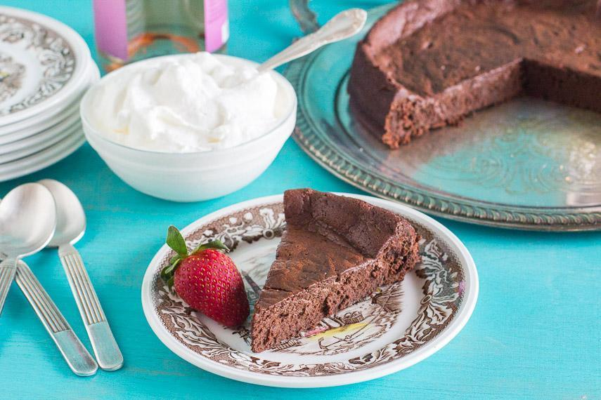 Low FODMAP Cake Recipe: Flourless Chocolate Cake